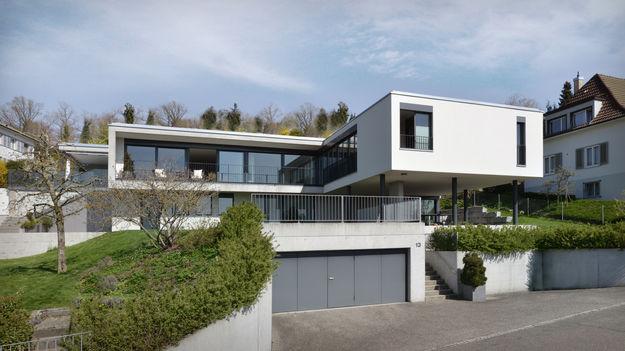 Wohnhaus am Hang Zofingen