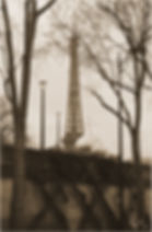 Sepia Tour d'Eiffel
