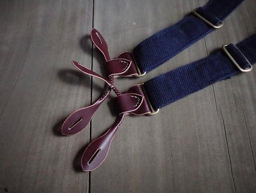 Cordovan Suspenders