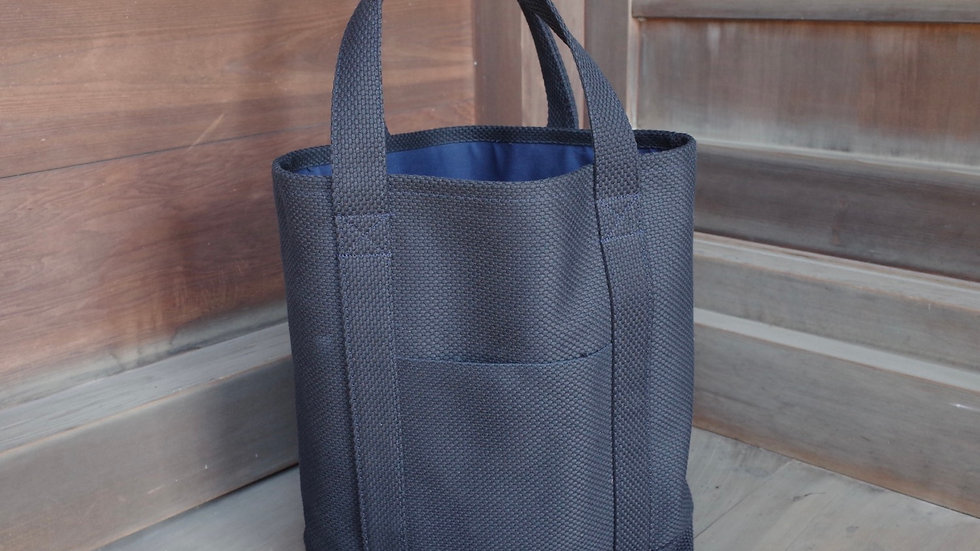 Tote Bag (Heavy Black Sashiko)