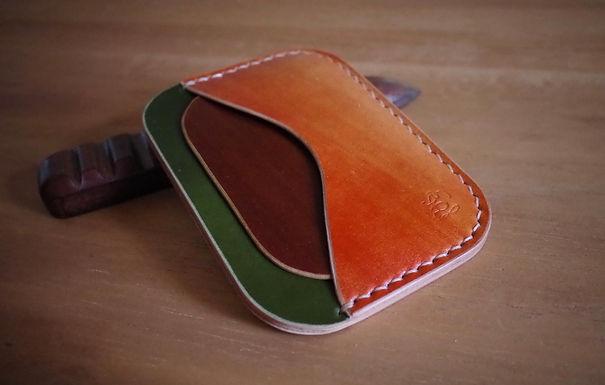 Card Wallet 5 Pocket (MULTI BRUSH STROKE CORDOVAN)