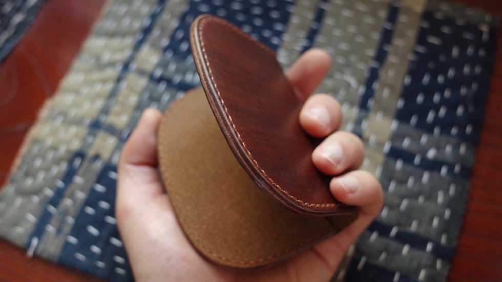 Folding Card Wallet (Kakishibu Horsebutt)