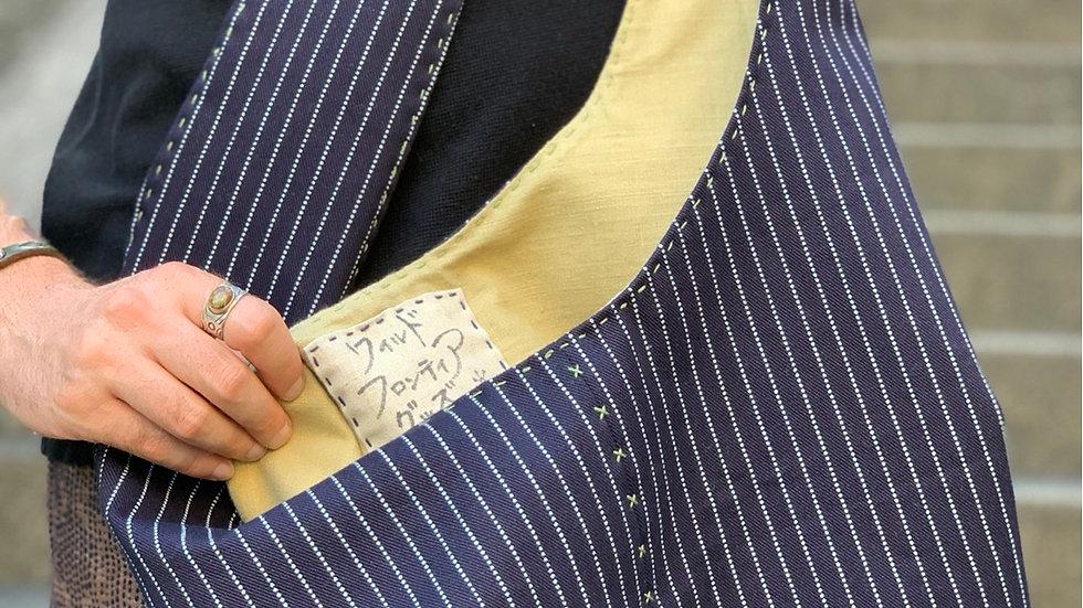 Shoulder Bag (Indigo Wabash/Natural Dandelion