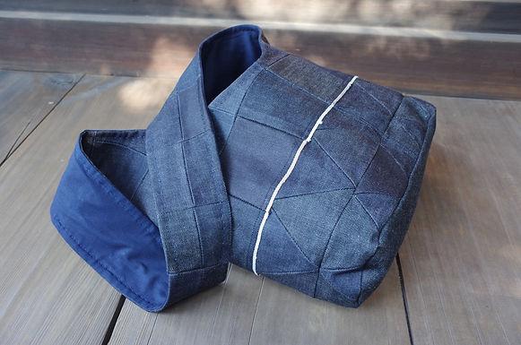 Shoulder Bag (Multi Denim)