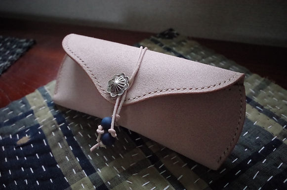 Glasses Case (Natural Roughout)