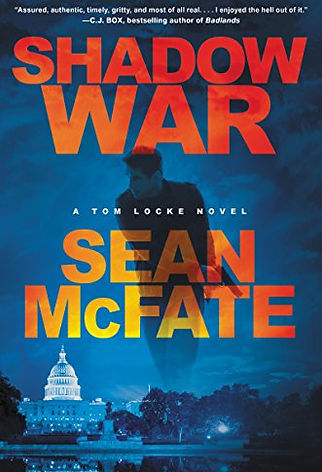 Sean McFate Tom Locke series Shadow War cover