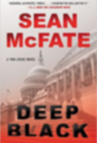 Sean McFate Tom Locke series Deep Blac cover