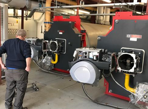 5 Megawatt of Boilers: Combustion is key to efficiency