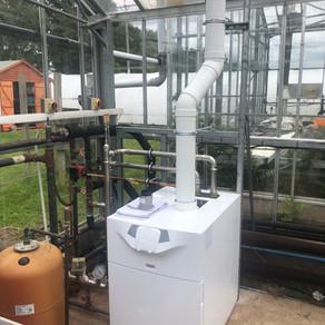 LPG Boiler Install