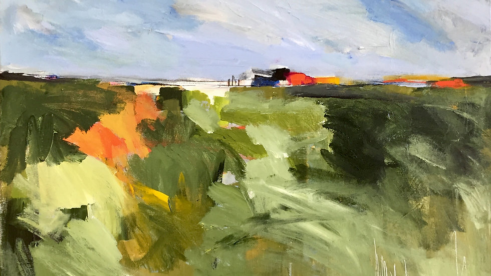 Landscape with Red