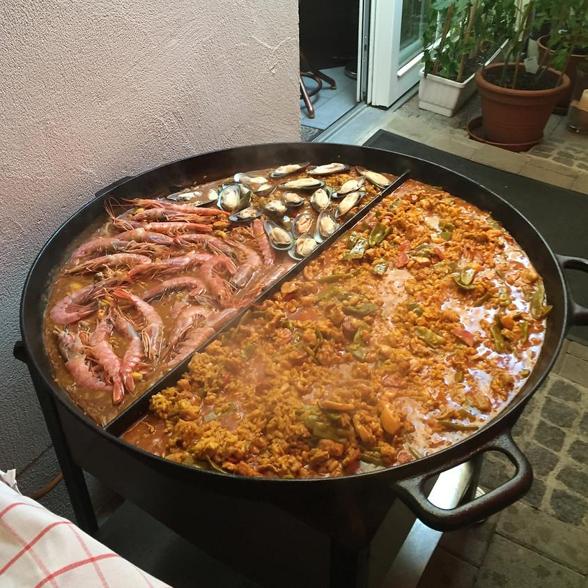 Paella valenciana + marisco am 01.08.20 ab 18:00