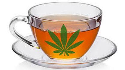 Hennepblad thee 50 gram