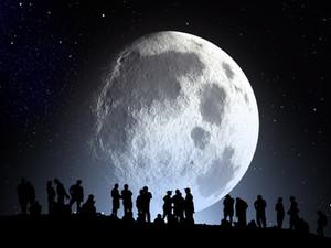 En ce jour de pleine lune, je vous offre son message ...
