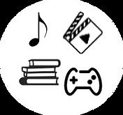 icons digital content aluna platform web