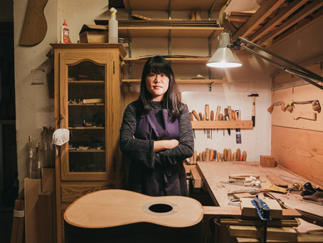 #Perfiles -  Yunah Park: luthier