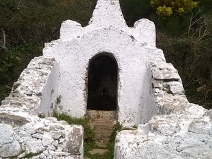 Off the beaten path - Sintra's hidden gems: 1 Fonte dos Romeiros, Peninha