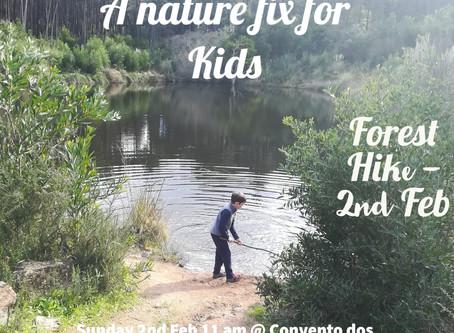 Nature Fix for Kids (walk 6)- 2.2.20