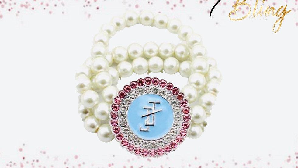 JJOA 3-strand pearl bracelet