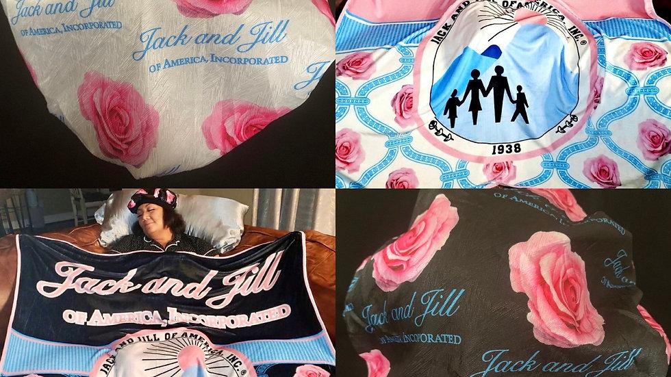 JJOA Fleece Blanket (bonnets sold separately)