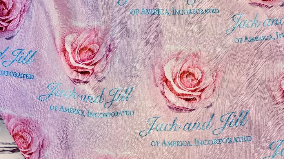 Little Girls Pink JJOA Hair Bonnet