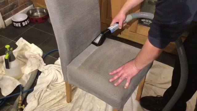 Does your dining room chairs need a deep clean? We help busy homeowners in south lanarkshire and West Lothian to keep their carpets looking like new, germ free, and last a lifetime, without missed stains, having to be home, or waiting for days for yo