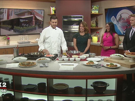 Fox 2 News: Empire Kitchen Serves up Scottish Salmon and Couscous