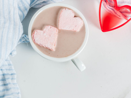 Homemade Valentine's Day Marshmallows