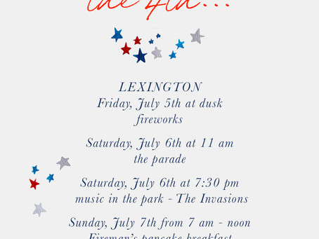 What to do for the 4th...