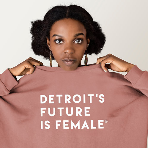 Graphic Women's Cropped Sweatshirt