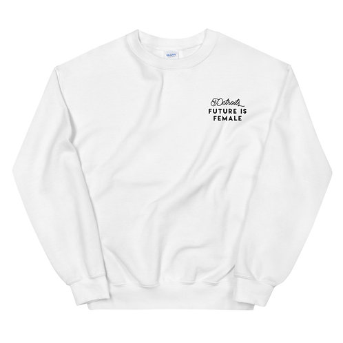 Classic Embroidered Genderless Sweatshirt