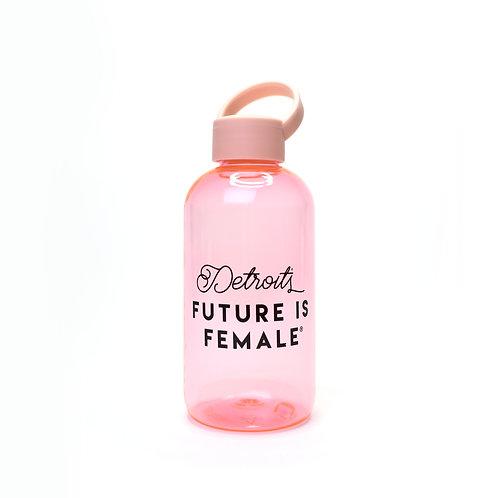 Rose Pink Reusable Water Bottle
