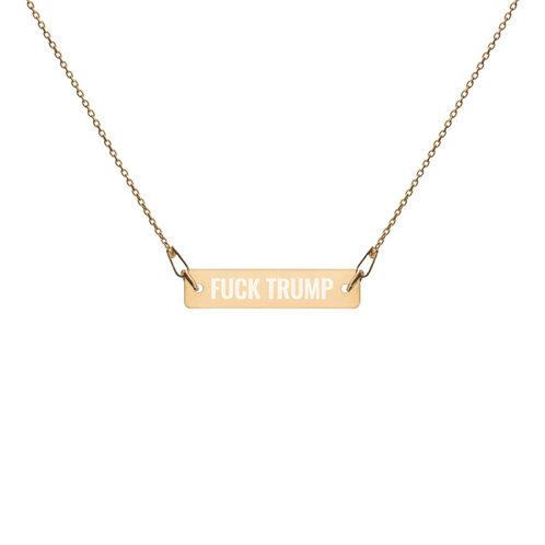 F*ck Trump Necklace
