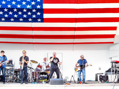 Lexington's Music in the Park, Friday, June 21st at 7:30