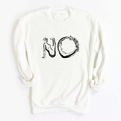 'NO' Genderless Sweatshirt