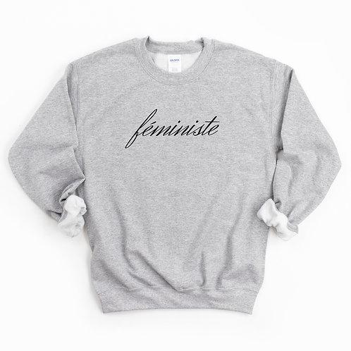 'Féministe' Genderless Sweatshirt