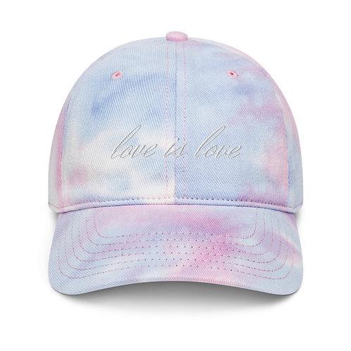 'love is love' Tie-dye Hat