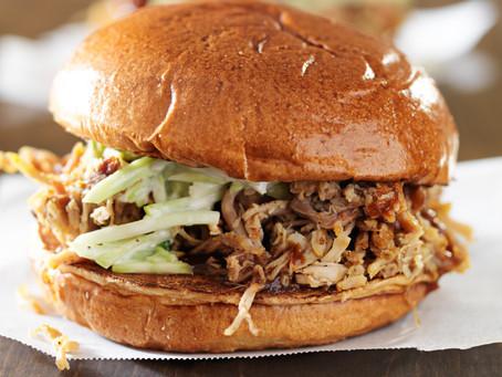 Maple BBQ Pulled Turkey Sandwiches