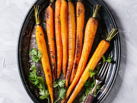 Candied Baby Carrots!