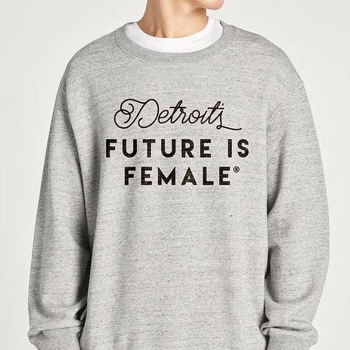 Classic Genderless Graphic Sweatshirt