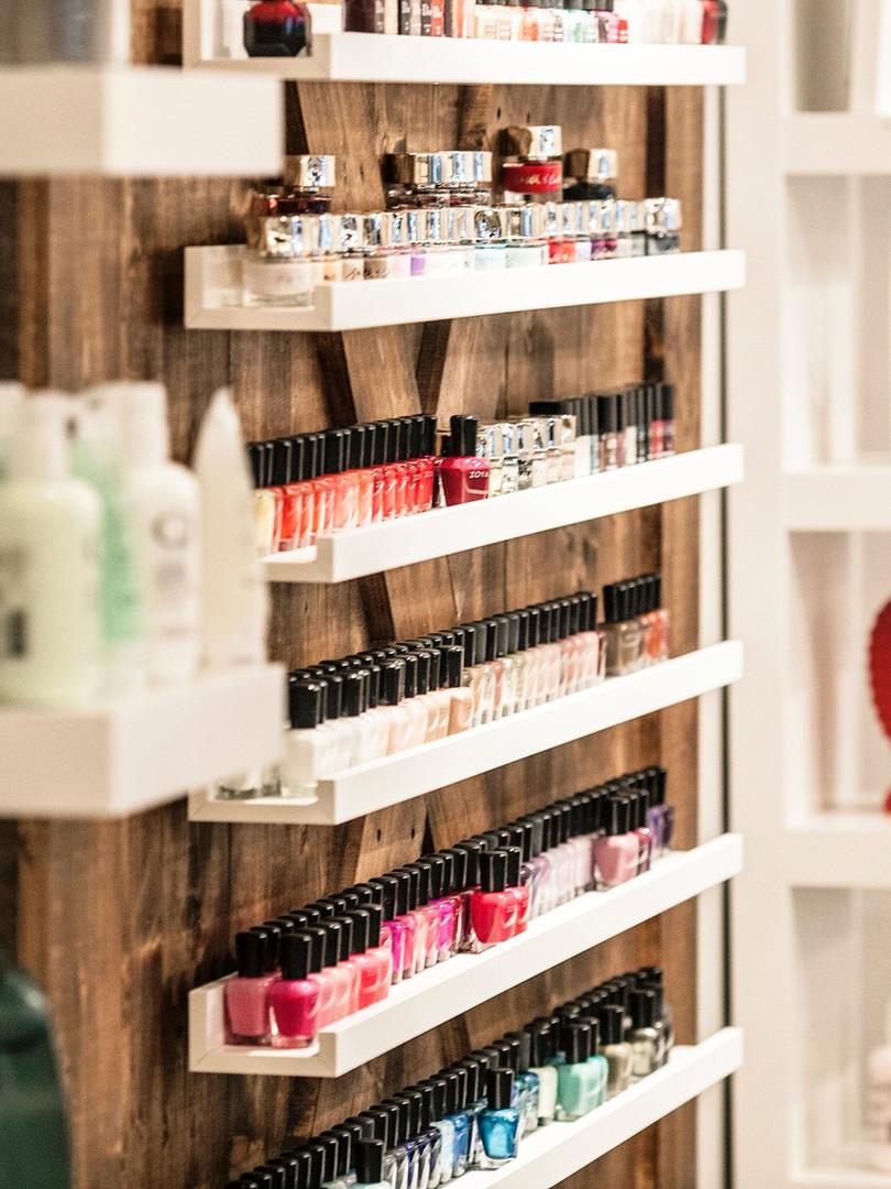 Non-toxic polishes at PAINT Nail Bar