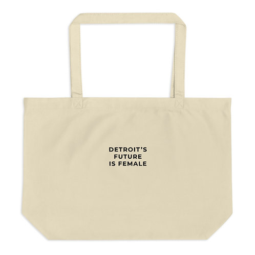 Embroidered Basics Carry-All Organic Tote