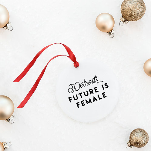 Classic Graphic Holiday Ornament