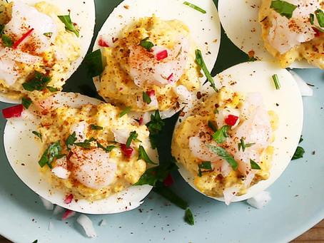 Creole Deviled Eggs