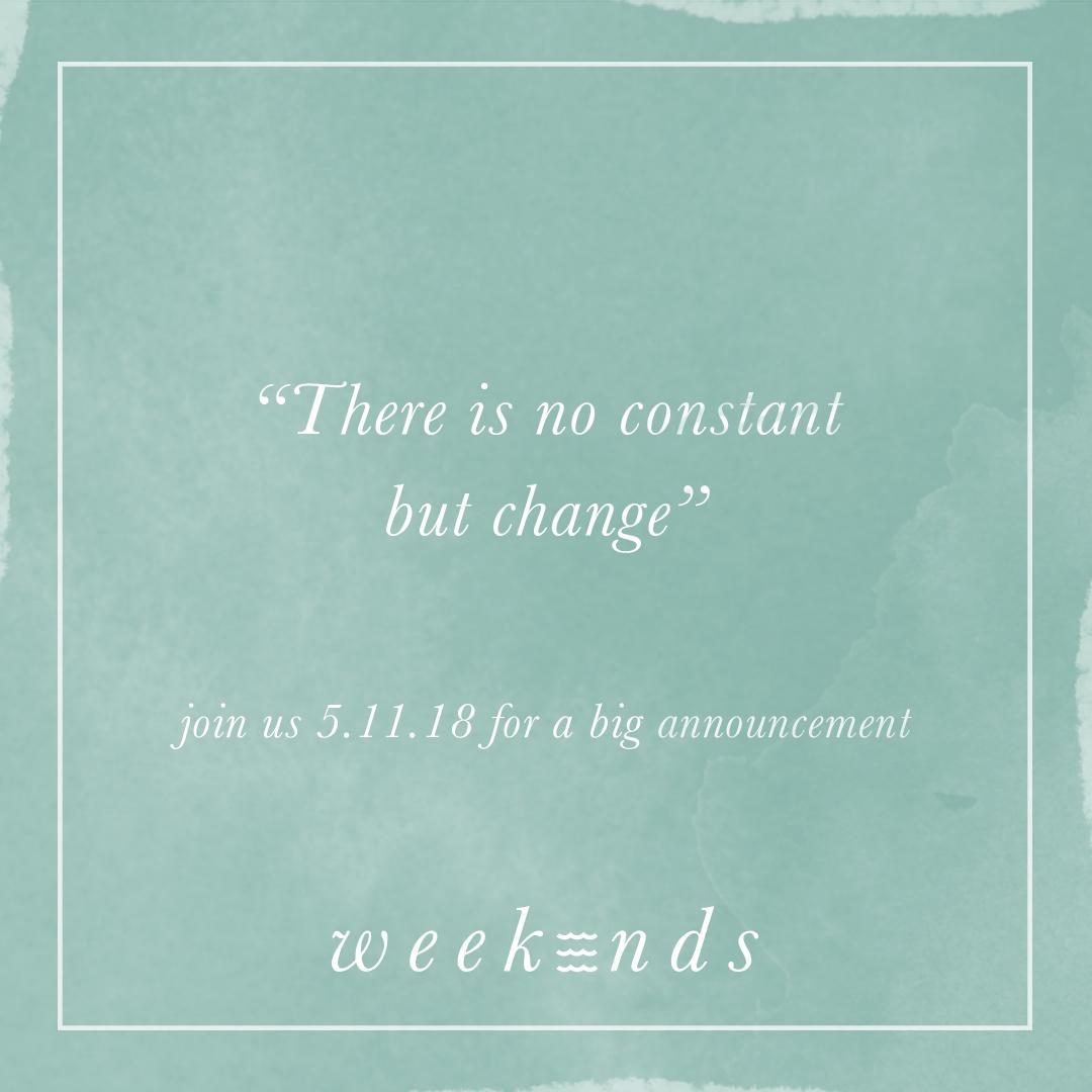 Art Hop + A Big Announcement! | weekendseveryday