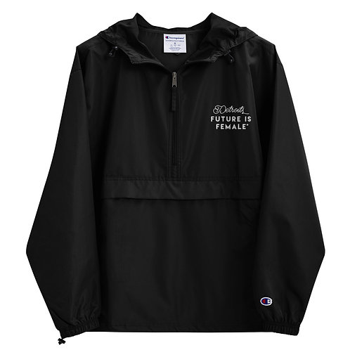 Classic Embroidered Champion Packable Jacket