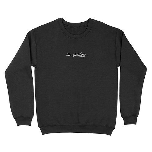 'I'm Speaking' Embroidered Genderless Sweatshirt