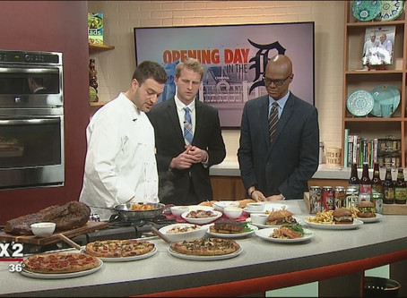Fox 2 News: Opening Day eats with Empire Kitchen