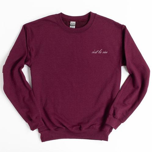 'C'est La Vin' Genderless Sweatshirt