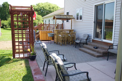 Outdoor Living Space Installation