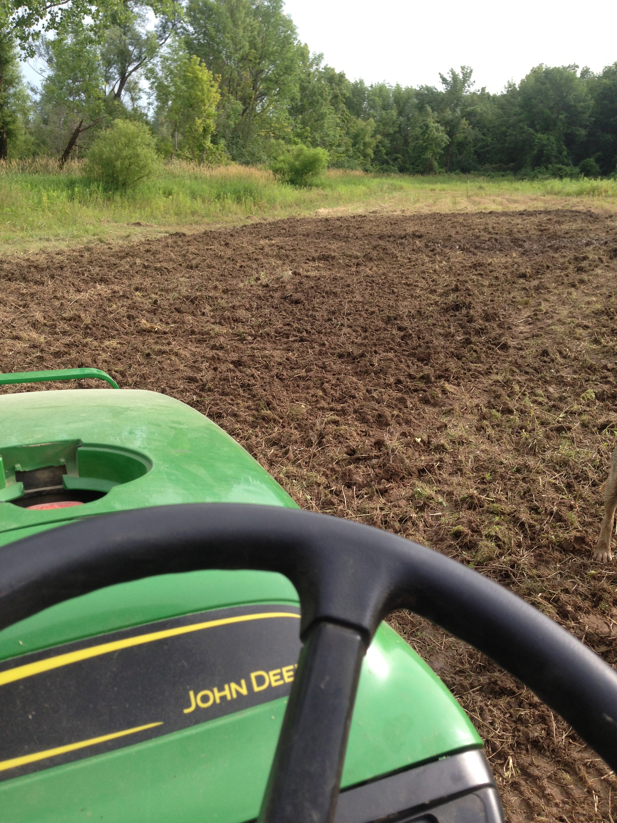 Food Plot Installation